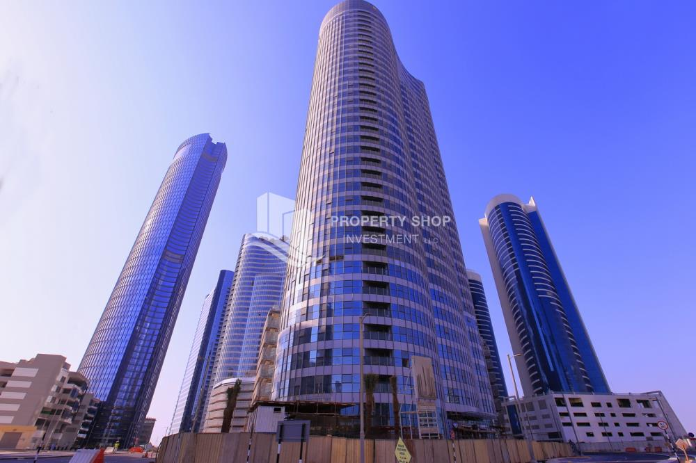 Property-Spacious high-floor 1BHK with a canal view available for rent in Sigma Towers