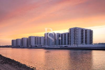 Spacious pool/partial canal facing 1BHK available for sale in Waters Edge