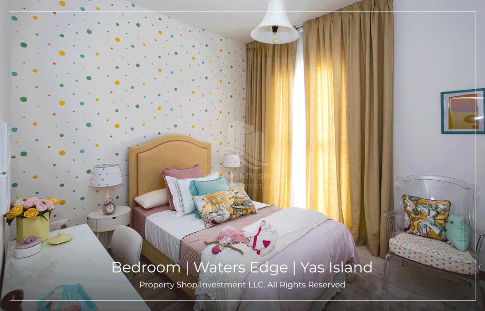 Bedroom-Spacious low floor 2BHK available for rent in Waters Edge