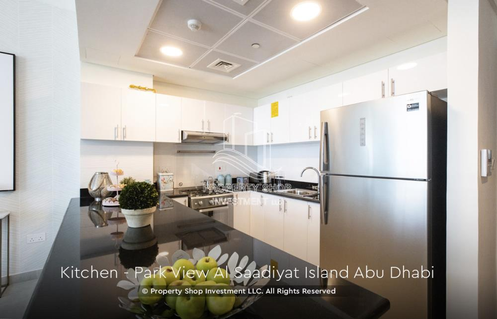 Kitchen-1 br apartment in Park View with 2 car parking for sale now