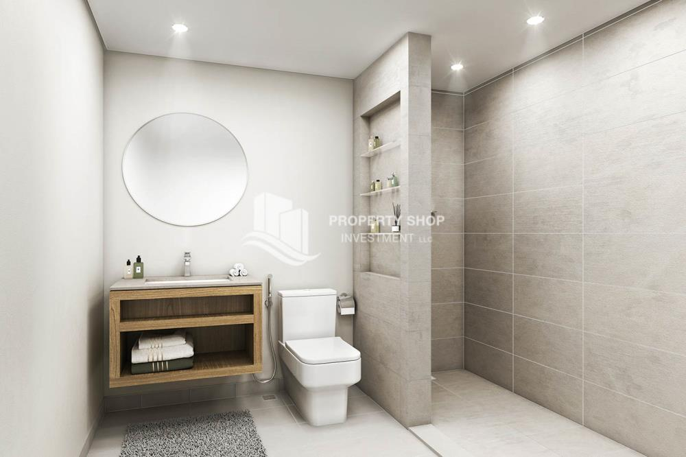 Bathroom- Great Investment on a 1br apartment.