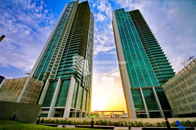 In best condition – Fully Furnished – High floor – Sea View
