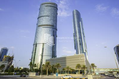 Spacious high floor, sea- facing 2BHK available for rent in Sky Tower