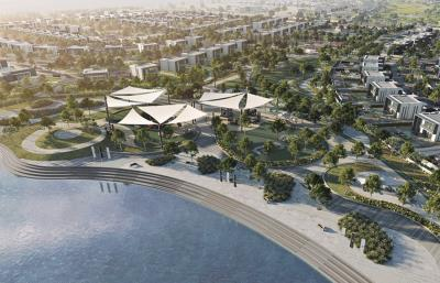 Brand new waterfront residential land in Yas island