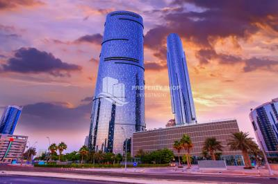 Marvellous , Sea View , 2 bedrooms apartment for rent in Sun Tower, one cheque payment, upcoming 17th August
