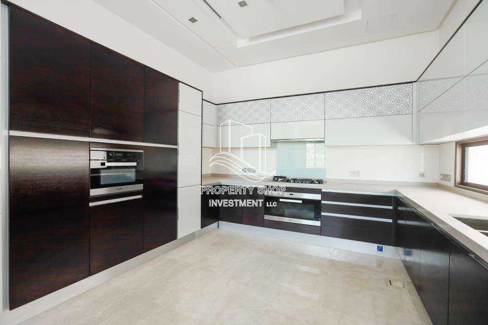 Kitchen-6BR beach mansion with 2 levels.