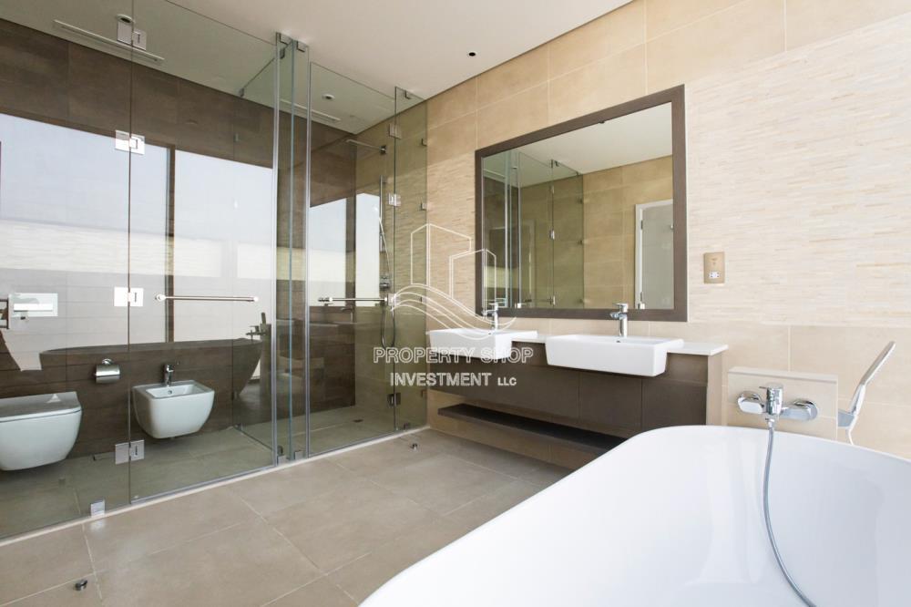 Bathroom-Own a Stunning 4BR Villa in Jawaher Saadiyat Island
