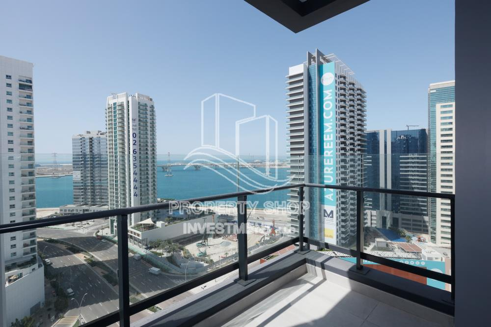 Balcony-2BR with Parital Sea View
