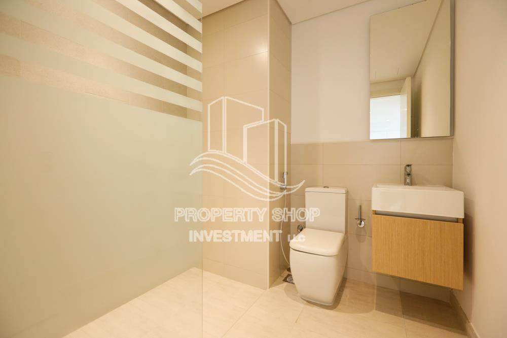 Bathroom-2BR with Parital Sea View