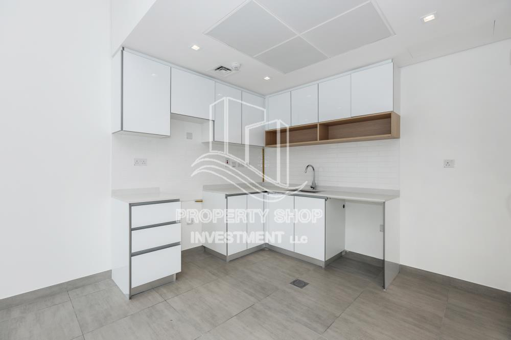 Kitchen-2BR with Parital Sea View