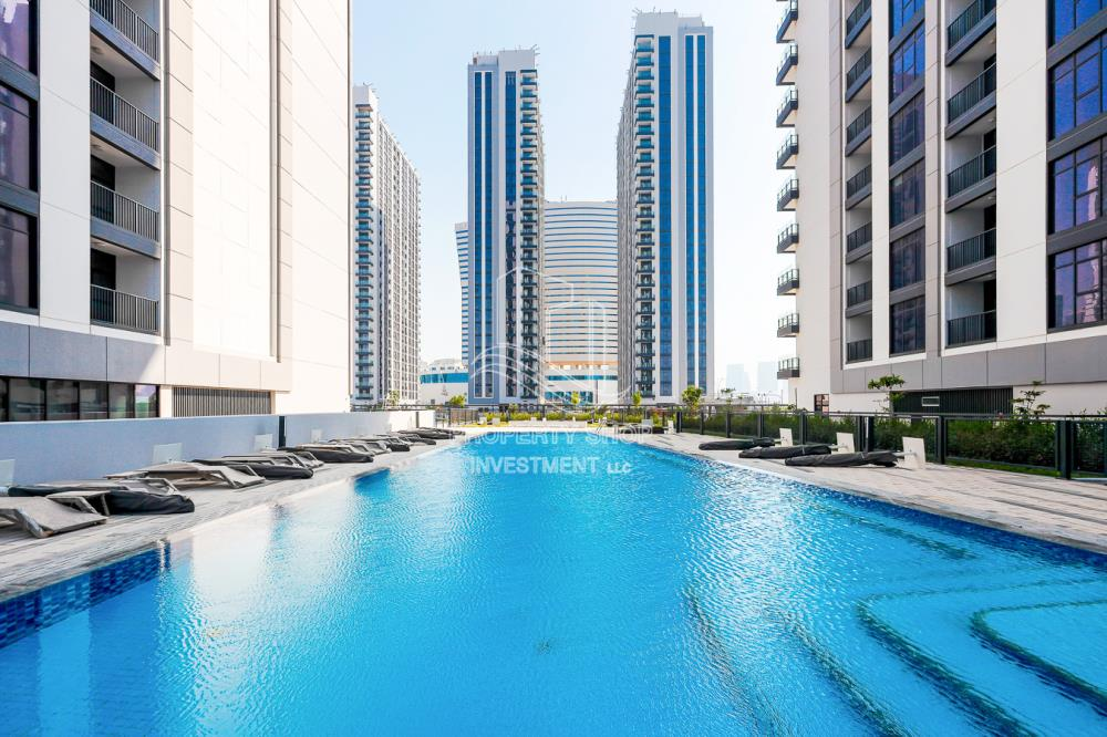 Community-Brand new apartment with pool and sea view in The Bridges, ready for rent immediately!