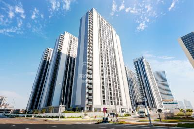high floor 2BHK with a balcony available for rent in The Bridges