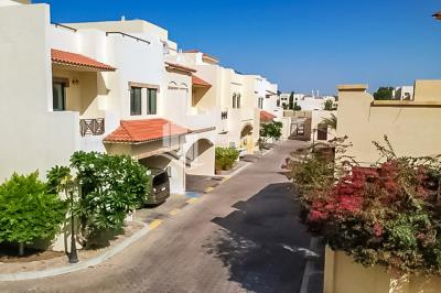 Available for rent in Khalidiya area. 4BR+M with terrace at Excellent Condition.