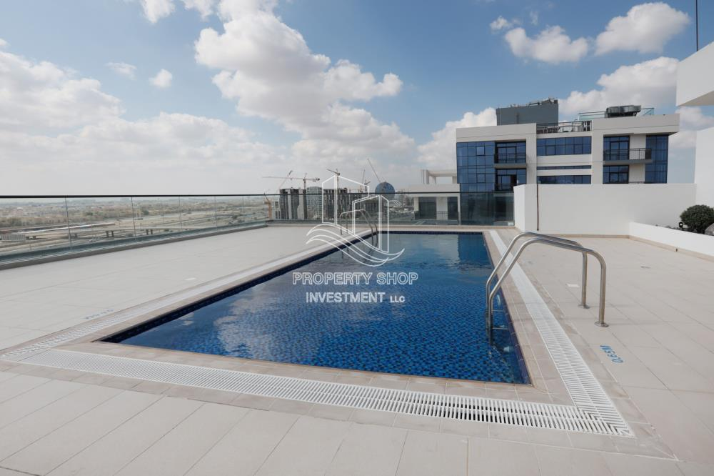 Facilities-Well Maintained 2BR+M Apt with City View Available in Al Raha Beach!