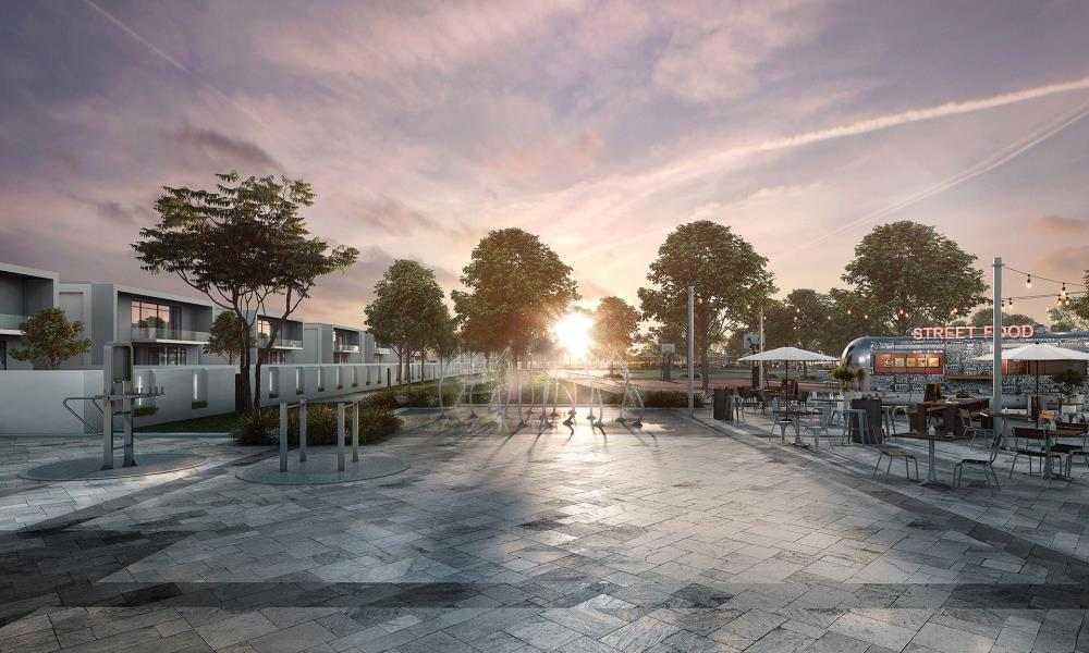 Community-Residential corner big plot in Yas Island