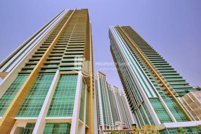 2 Cheques! 1BR Apt with Marina view.