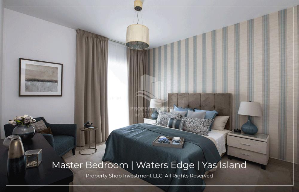 Bedroom-1 Bedroom in the Water's Edge available for rent!