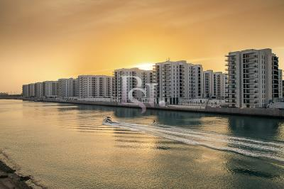 Spacious 1BHK with a balcony and open-kitchen available for rent in Waters Edge