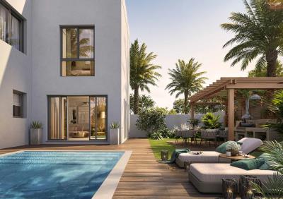 3BR Villa Single Row for Sale