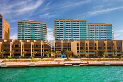 4HK+ M with balcony at  Al Raha Beach  Linear C1 (Al Muneera) FOR RENT