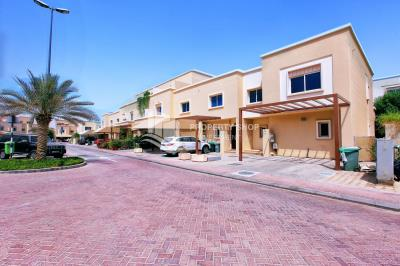 Smart investment! 4 BR + maid's and study room in Arabian village, AlReef.