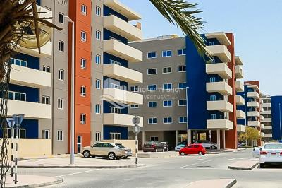 2BR Apt with with pool view in Al Reef